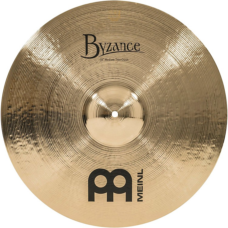 Meinl Byzance Medium Thin Crash Brilliant Cymbal 19 in.