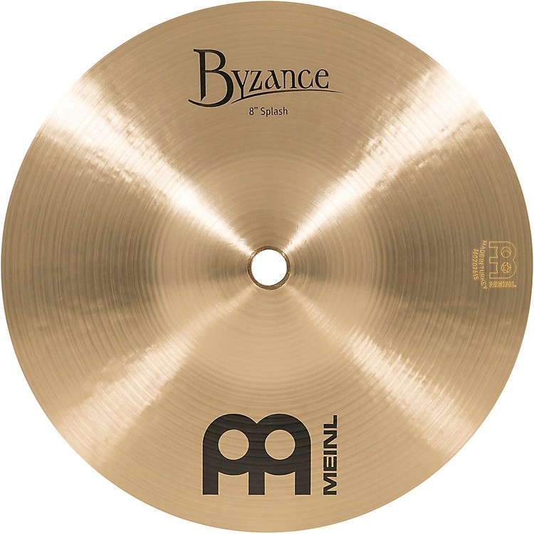 MeinlByzance Splash Traditional Cymbal8 in.