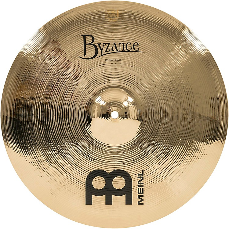 Meinl Byzance Thin Crash Brilliant Cymbal 16 in.