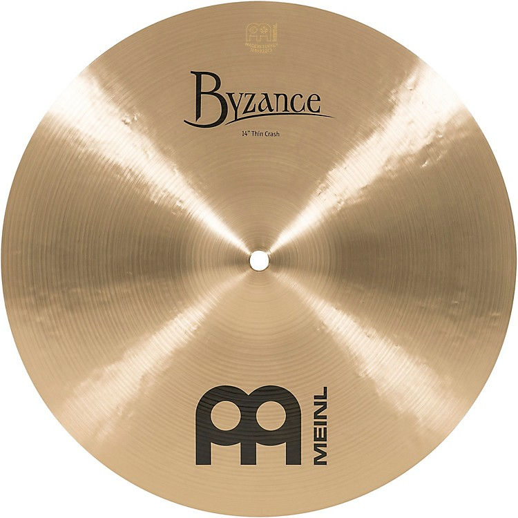 MeinlByzance Thin Crash Traditional Cymbal14 in.