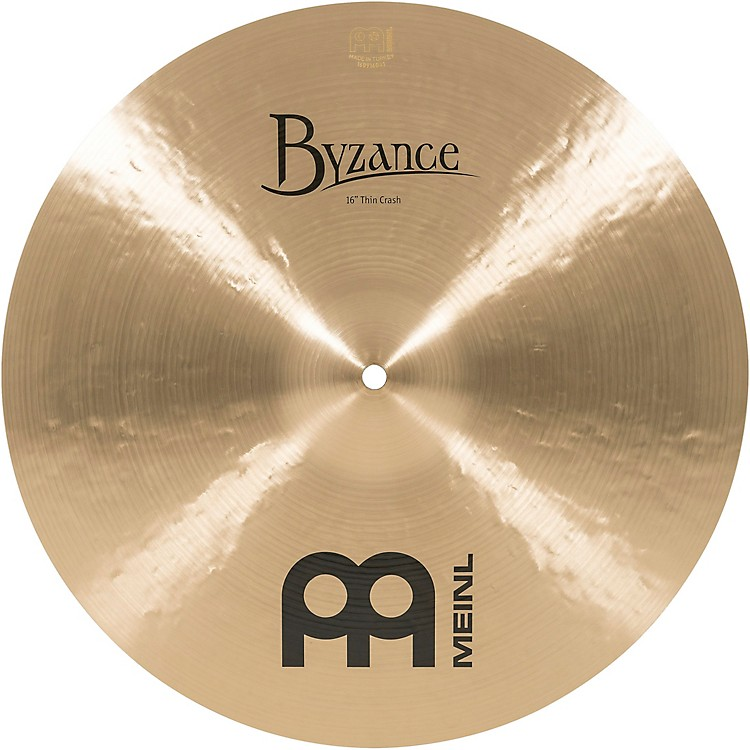 Meinl Byzance Thin Crash Traditional Cymbal 16 in.