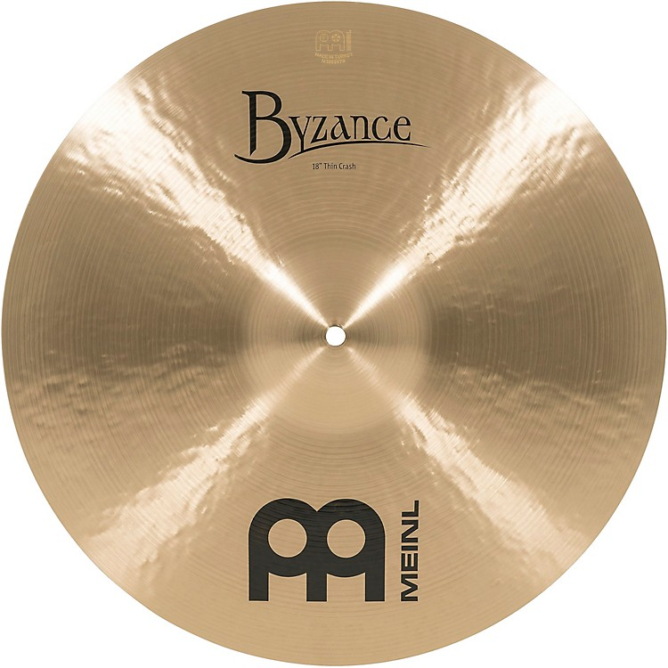 Meinl Byzance Thin Crash Traditional Cymbal 18 in.