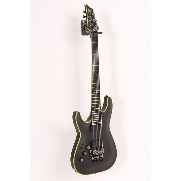 Schecter Guitar Research C-7 FR ATX  Left-Handed 7-String Electric Guitar Satin Aged Black 886830984617