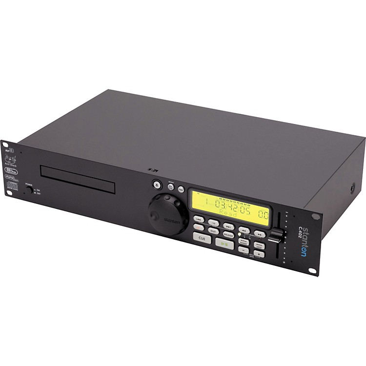 StantonC.402 Single Rackmount CD Player with MP