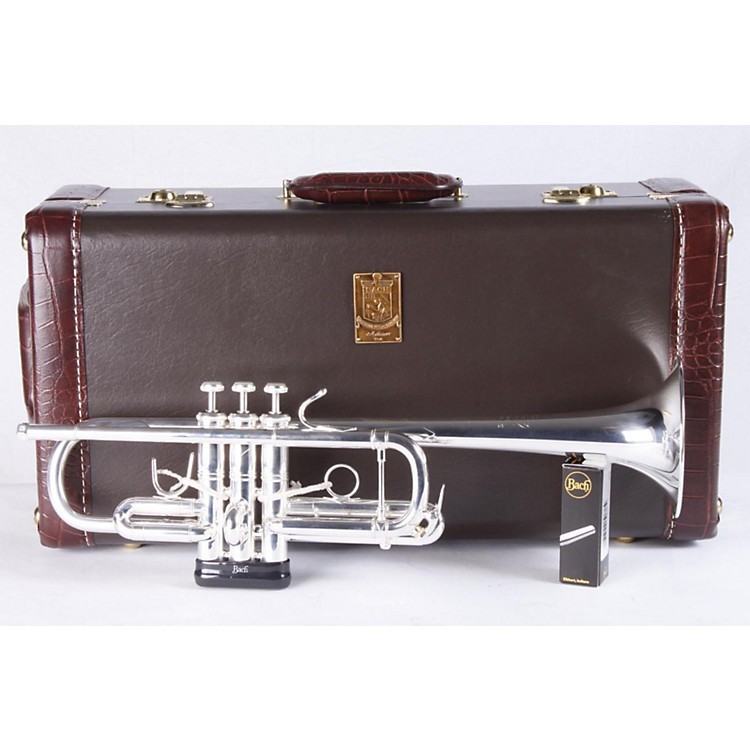 BachC180 Stradivarius Series Professional C TrumpetC180SL Silver L Bore 229 Bell 25S Pipe886830784675