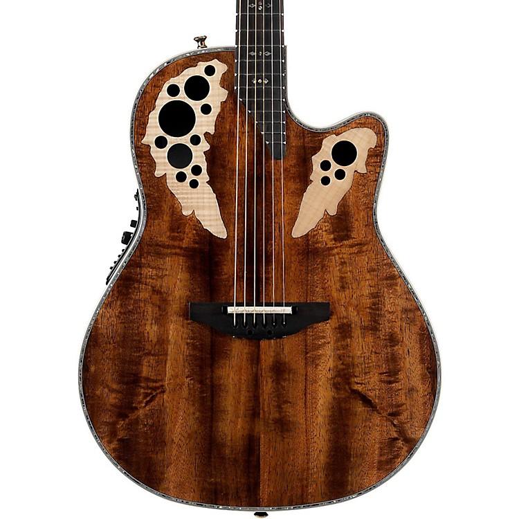 OvationC2078AXP Elite Plus Contour Acoustic-Electric GuitarNatural