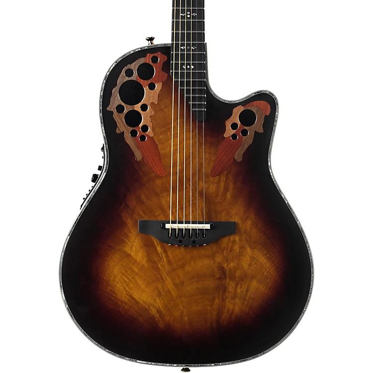 OvationC2078AXP Elite Plus Contour Acoustic-Electric GuitarSunburst