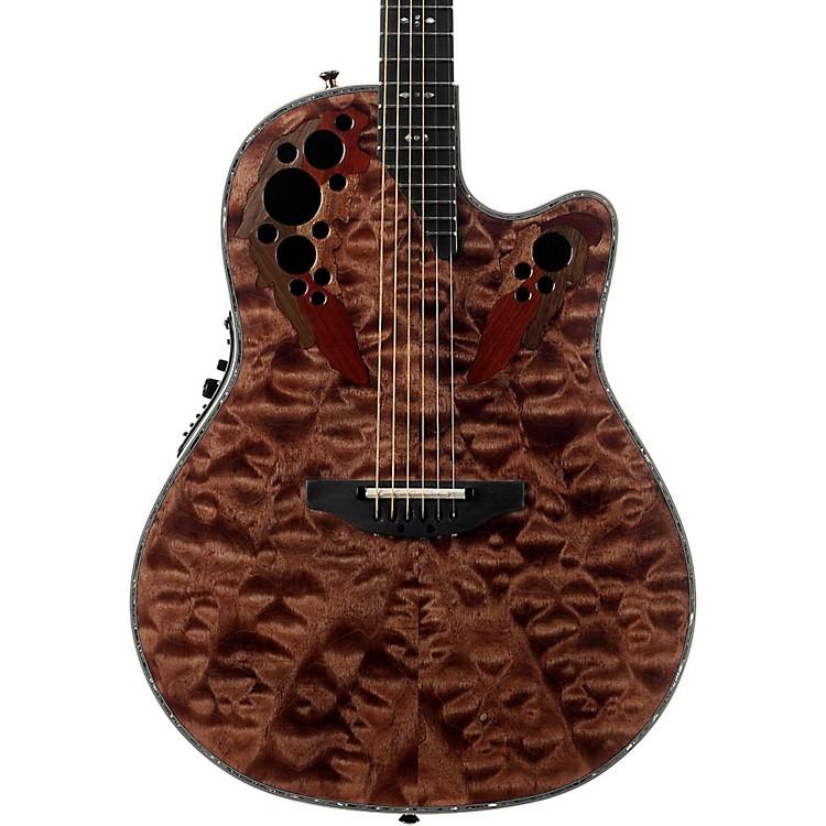 OvationC2078AXP Elite Plus Contour Acoustic-Electric GuitarTiger Eye