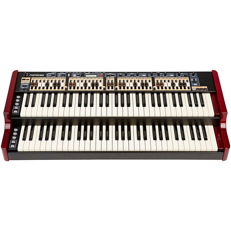 Nord C2D Combo Organ Red