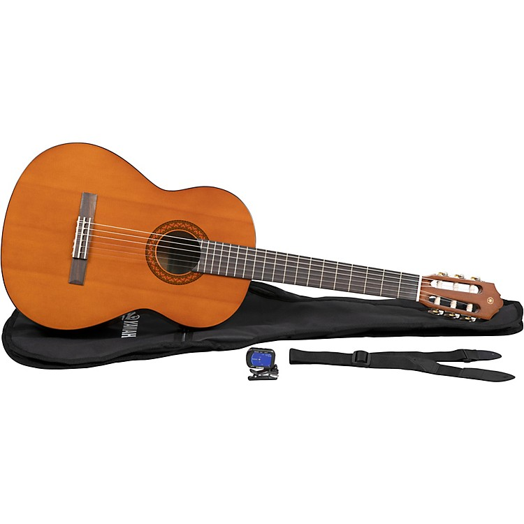 yamaha c40 gigmaker classical acoustic guitar pack natural music123. Black Bedroom Furniture Sets. Home Design Ideas