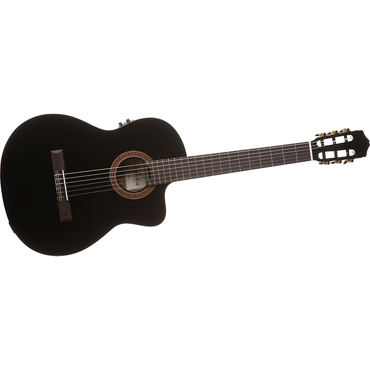 Cordoba C5-CEBK Nylon-String Acoustic-Electric Guitar