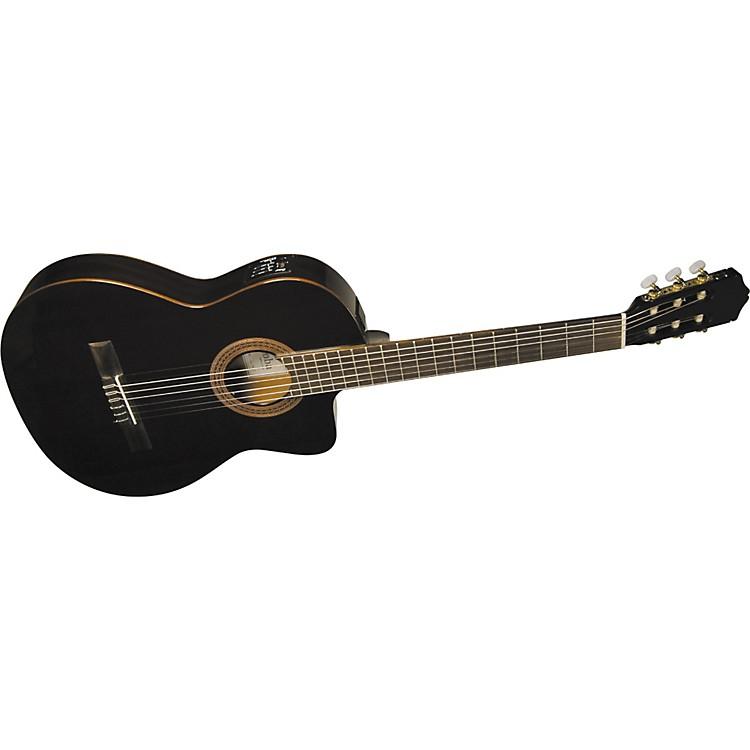 CordobaC5-CETBK Thinbody Classical Acoustic-Electric Guitar Black