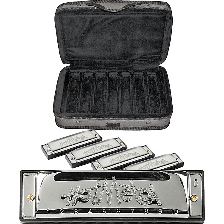 Hohner CASE OF METAL Harmonica 5-Pack
