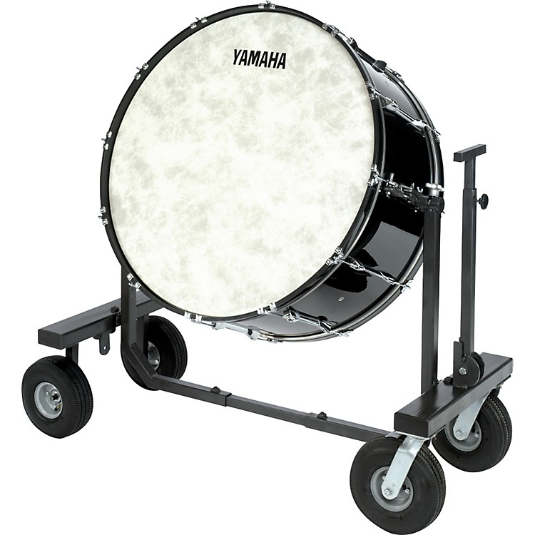 Yamaha CB-632 Concert Bass Drum With T-Bass Stand & Cover