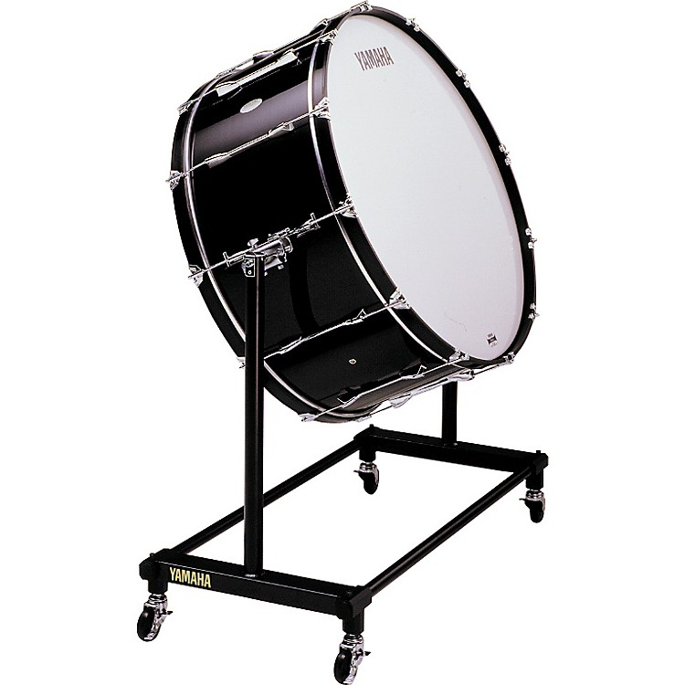 Yamaha CB-636 Concert Bass Drum With BS753 Stand & Cover