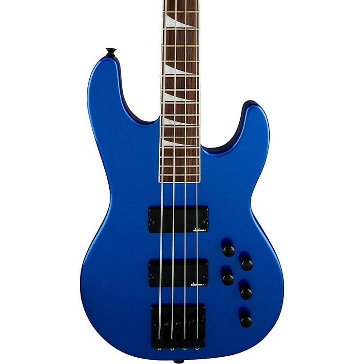 JacksonCBXNT IV Electric Bass GuitarMetallic BlueRosewood Fingerboard