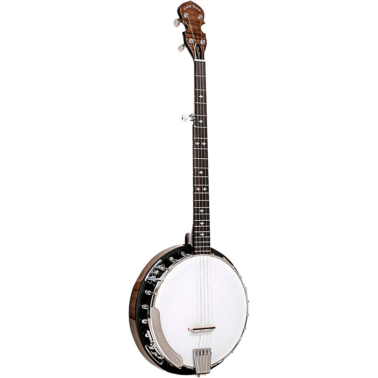 Gold Tone CC-100R+ Cripple Creek Banjo with Resonator Natural