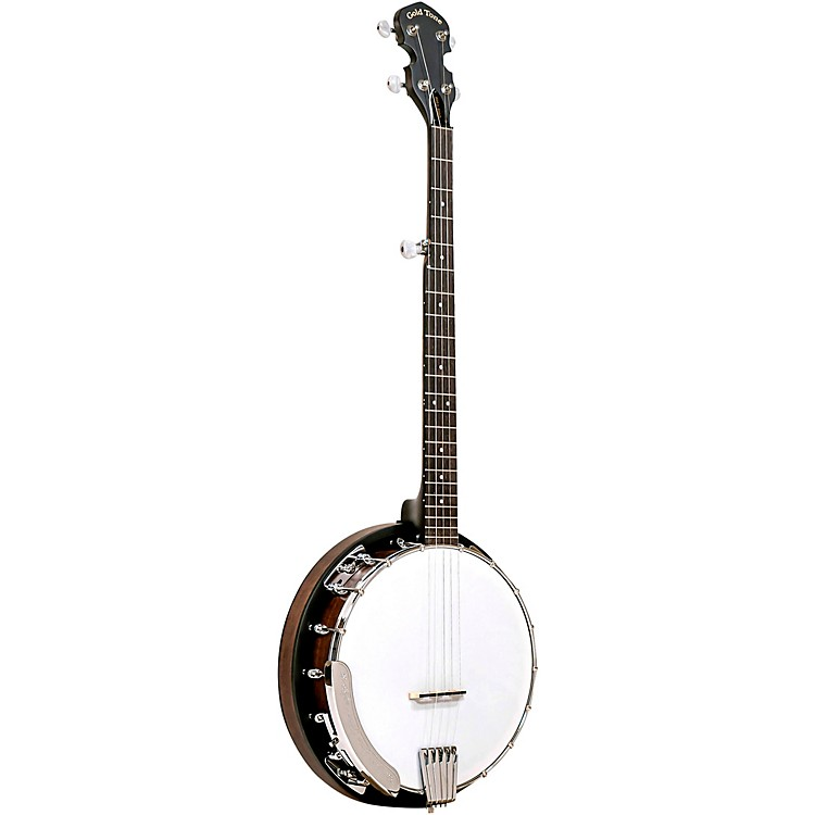 Gold Tone CC-BG Bluegrass Banjo Starter Pack Vintage Brown