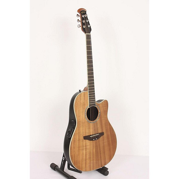 Ovation CC24-FKOA Celebrity Mid-Depth Acoustic-Electric Guitar Figured Koa 886830880650