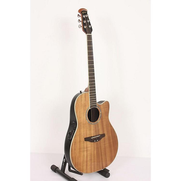 OvationCC24-FKOA Celebrity Mid-Depth Acoustic-Electric GuitarFigured Koa886830880650