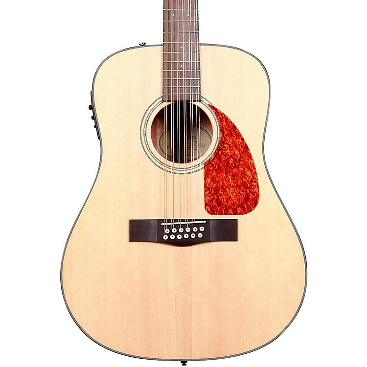 Fender CD-160SE 12-String Acoustic-Electric Guitar Natural