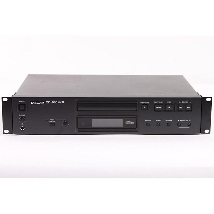 Tascam CD-160mkII  Professional Single CD Player with MP3 Playback and Digital Outputs  886830382314