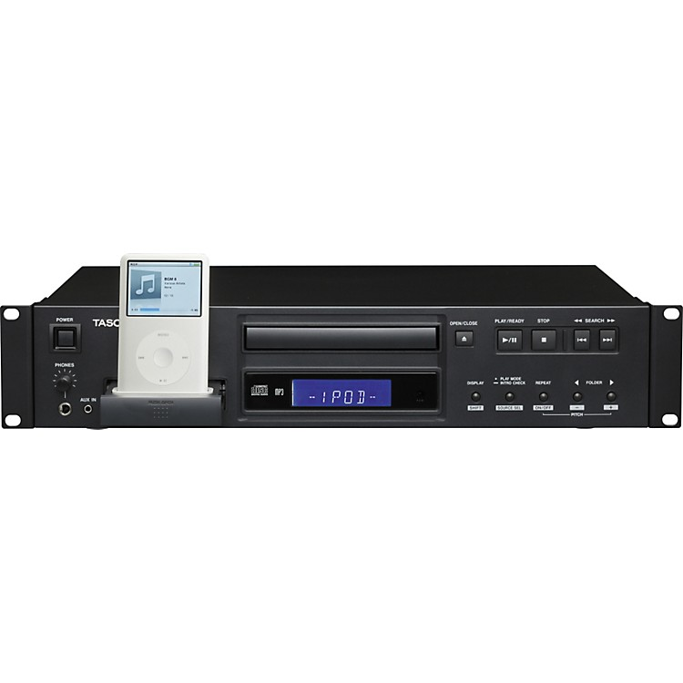TASCAM CD-200I CD Player With iPod Dock