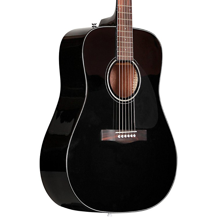 Fender CD-60 Dreadnought Acoustic Guitar Black
