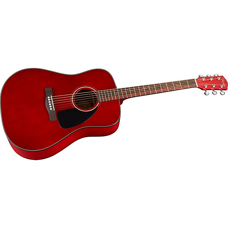 Fender CD-60 Dreadnought Acoustic Guitar Cherry Stain