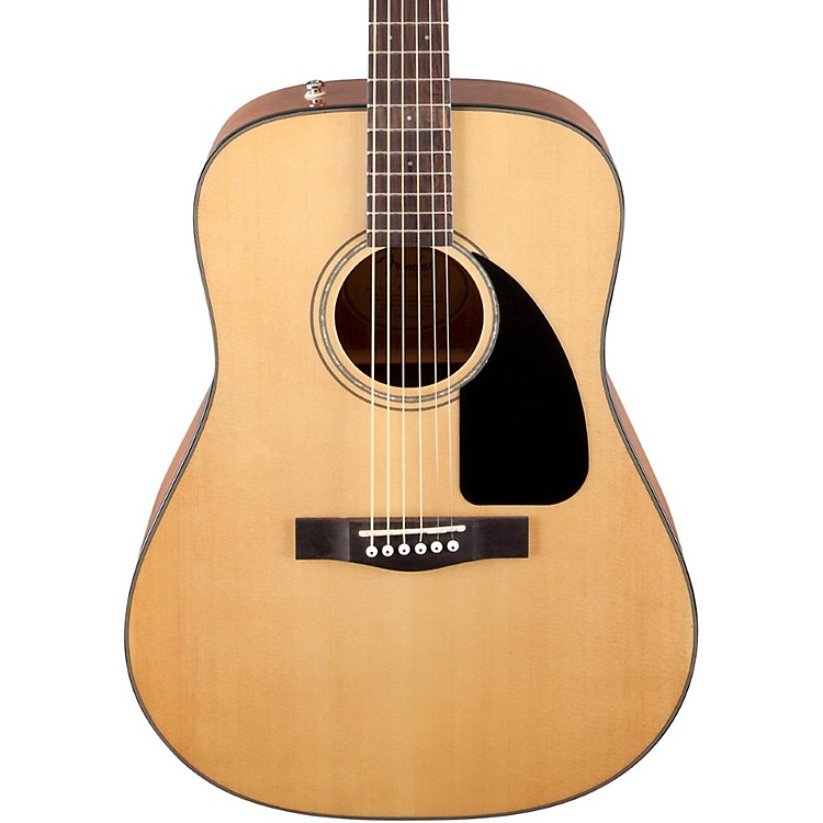 Fender CD-60 Dreadnought Acoustic Guitar Natural