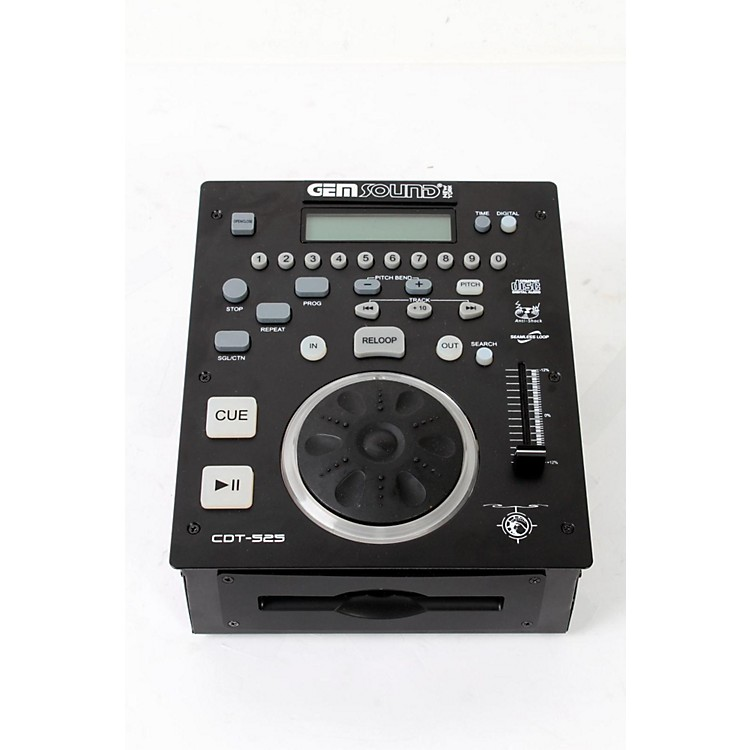 Gem Sound CD T-525 Slot-Load Pro DJ CD Player Regular 888365222912