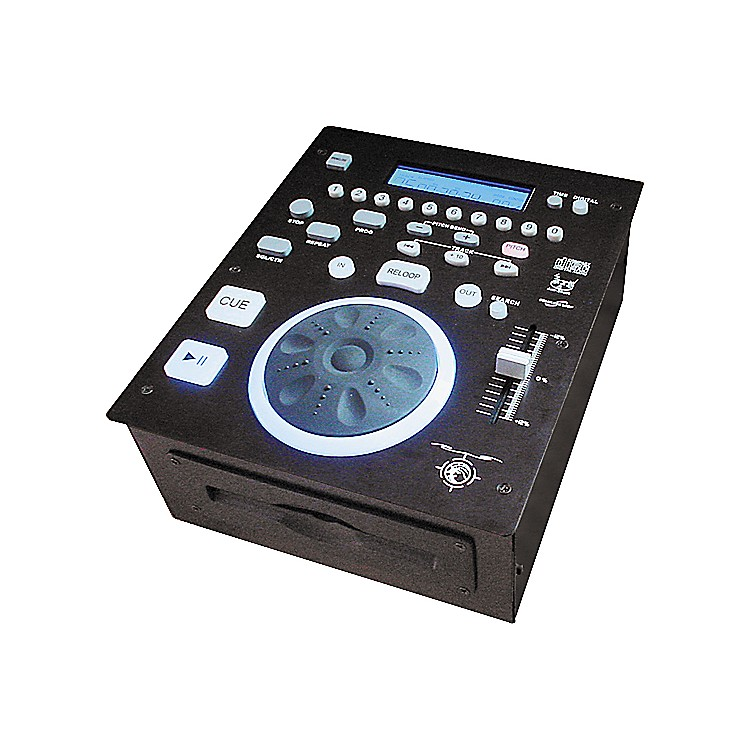 Gem SoundCD T-525 Slot-Load Pro DJ CD Player
