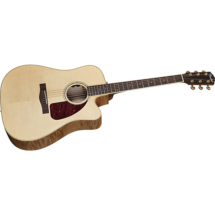 fender cd usa select 1 dreadnought acoustic electric guitar music123. Black Bedroom Furniture Sets. Home Design Ideas