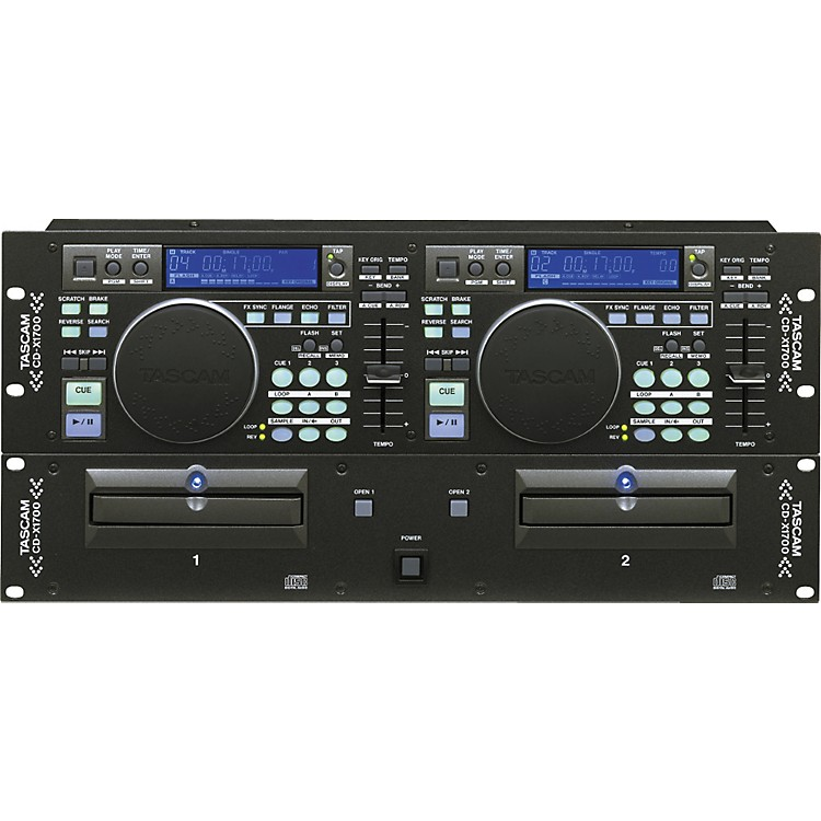 Tascam CD-X1700 Dual CD Player