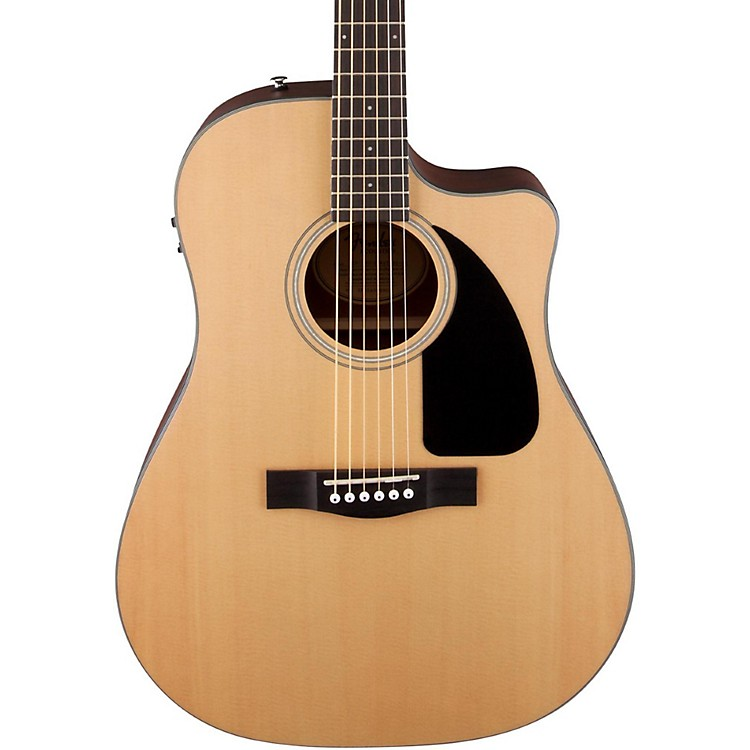 Fender CD100 CE Acoustic Electric Cutaway Guitar Natural