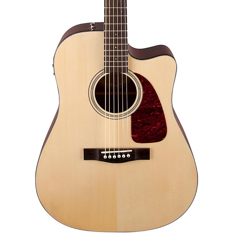 Fender CD140SCE Acoustic-Electric Guitar Natural