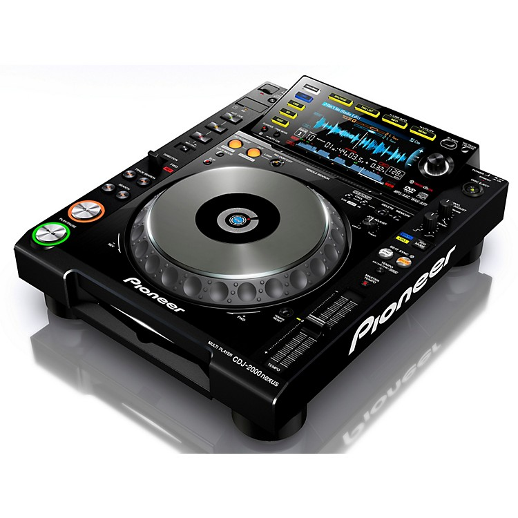 Pioneer CDJ-2000 Nexus Professional DJ Media Player Black Nexus System