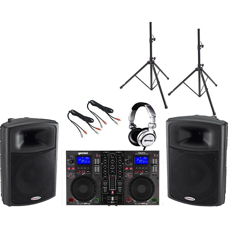 Gemini CDM-3610 / APS-15 DJ Package