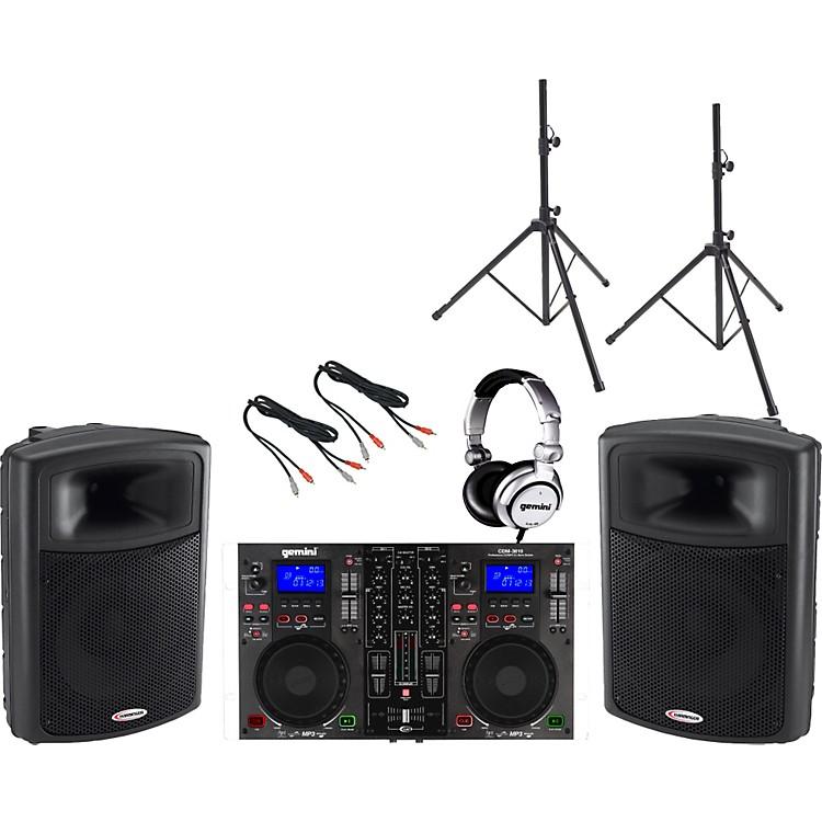 GeminiCDM-3610 / APS-15 DJ Package