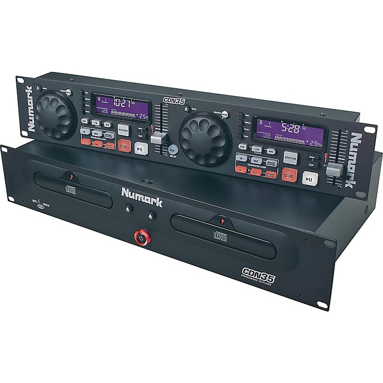 Numark CDN35 Dual Rackmount CD Player