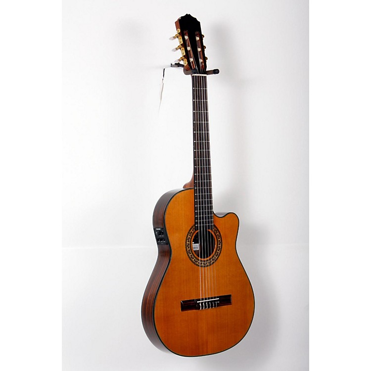 GianniniCDR Pro Thin CEQ Nylon String Acoustic-Electric GuitarNatural888365809748