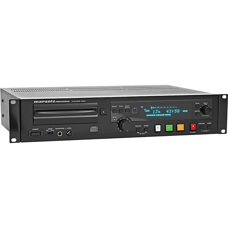 MarantzCDR633 CD Recorder & Player