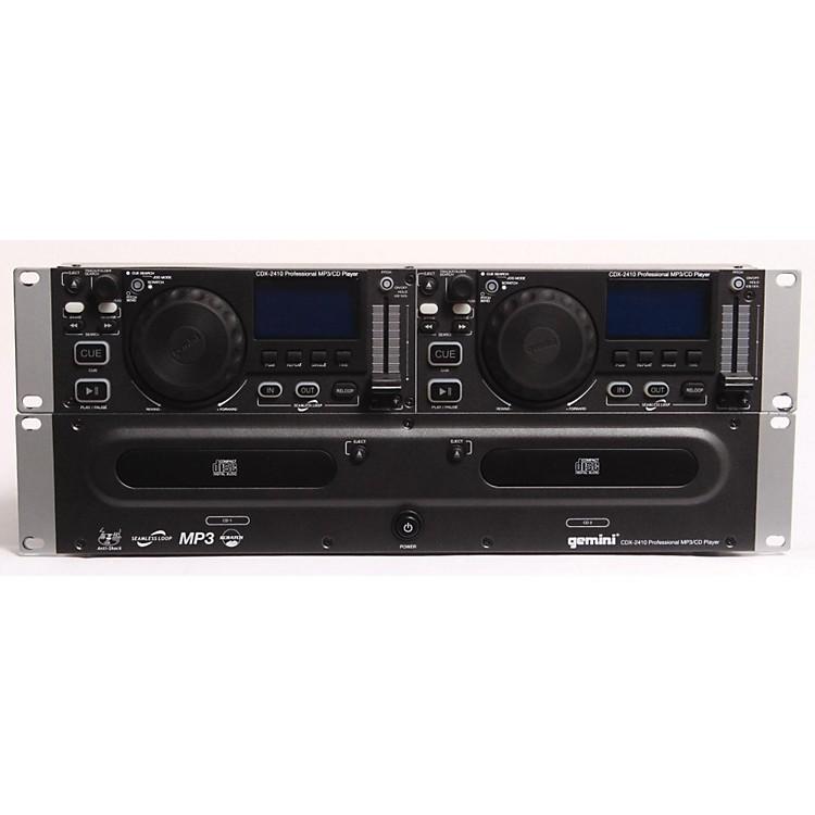 GeminiCDX-2410 2U Rackmount Dual MP3/CD Player886830059926