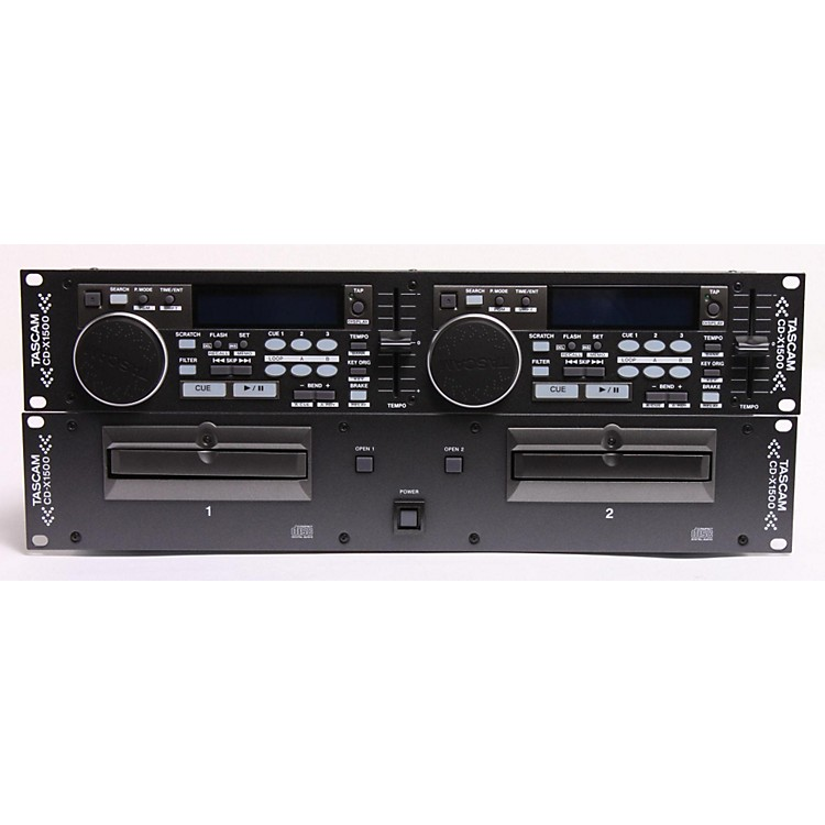 Tascam CDX1500 Dual CD Player  886830105319