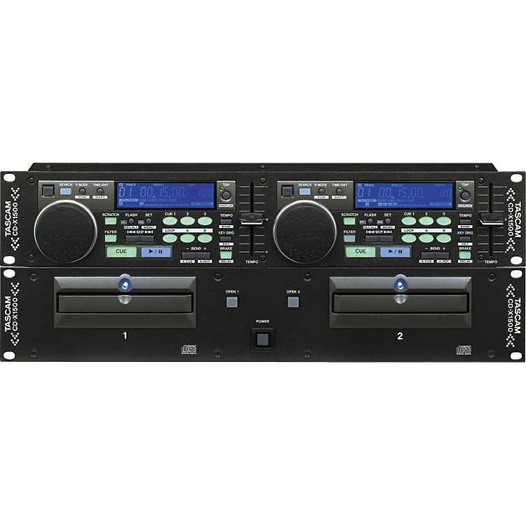 Tascam CDX1500 Dual CD Player