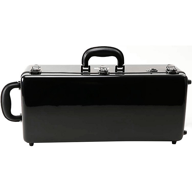 J. Winter CE 175 JW Eastman Series Fiberglass Double Trumpet Case CE 175 B Black