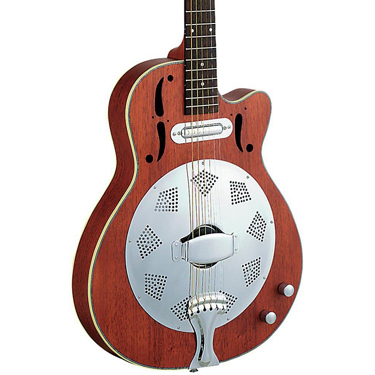 Dean CE Cutaway Acoustic-Electric Resonator Guitar Natural