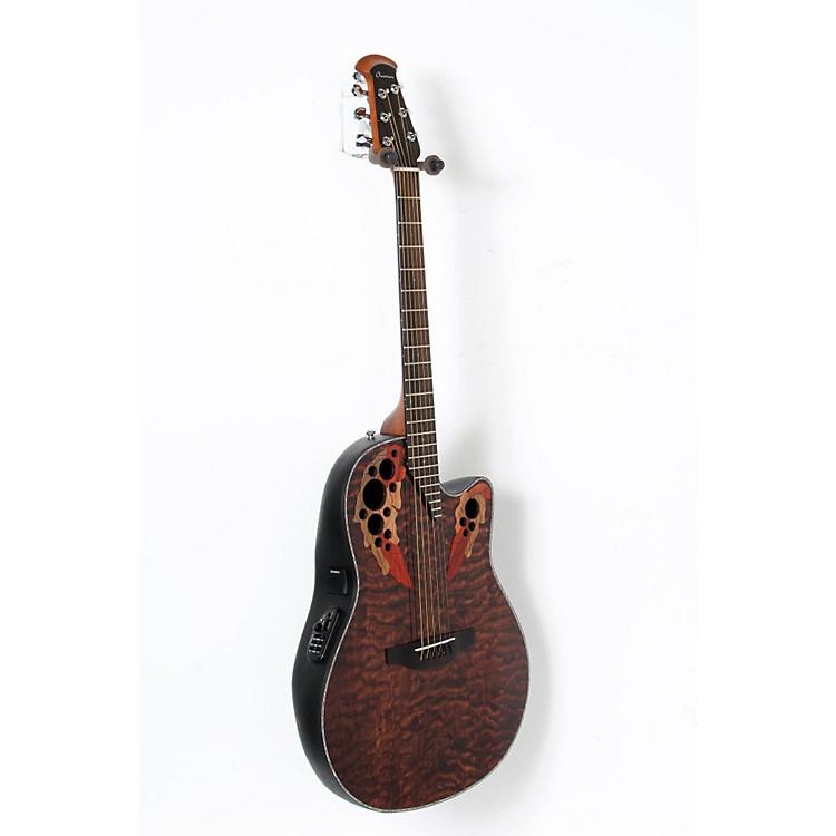 OvationCE44P-TGE Celebrity Elite Acoustic-Electric GuitarTransparent Tiger Eye888365900049