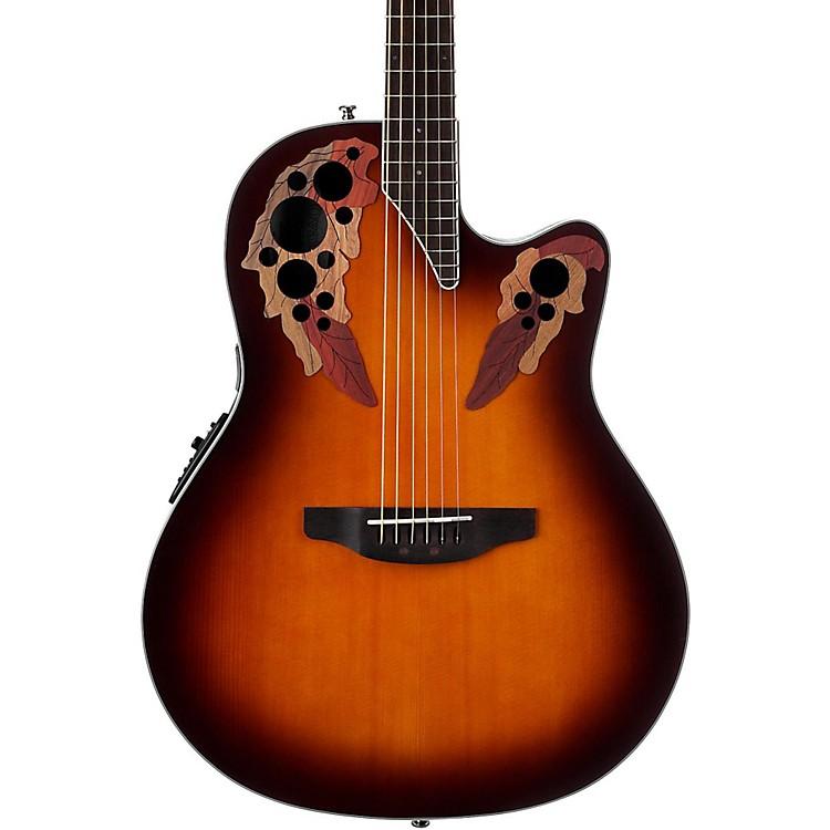 OvationCE48 Celebrity Elite Acoustic-Electric GuitarTransparent Sunburst