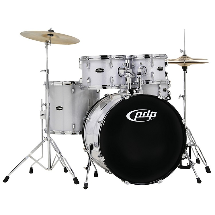 PDP CENTERstage 5-piece Drum Set with Hardware and Cymbals Diamond